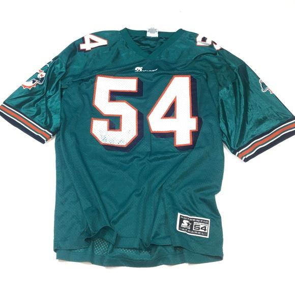 TS366 Vtg Miami Dolphins Zach Thomas Jersey XXL